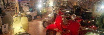Besuch Karl´s Vespa Museum