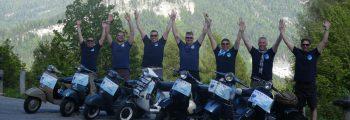 Vespaar Tour 2017 – Cruisen nach Trentino