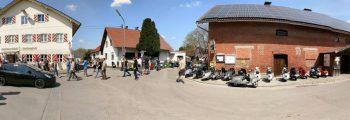 Anrollern Augsburger Rollerkö