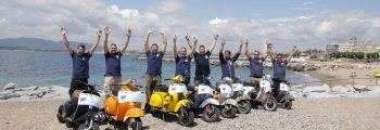 Vespa World Days in St. Tropez