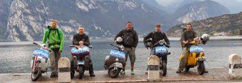 Vespaar fährt nach Gardasee Vol. 2